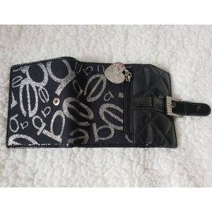 Babe black wallet for ladies